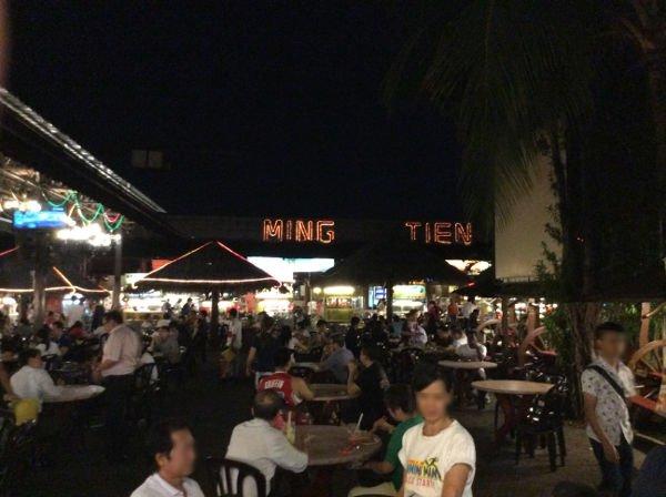 MING TIENという屋台村