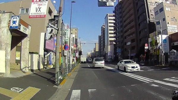 都営新宿線の大島駅を過ぎて