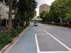 白山通り自転車レーン2