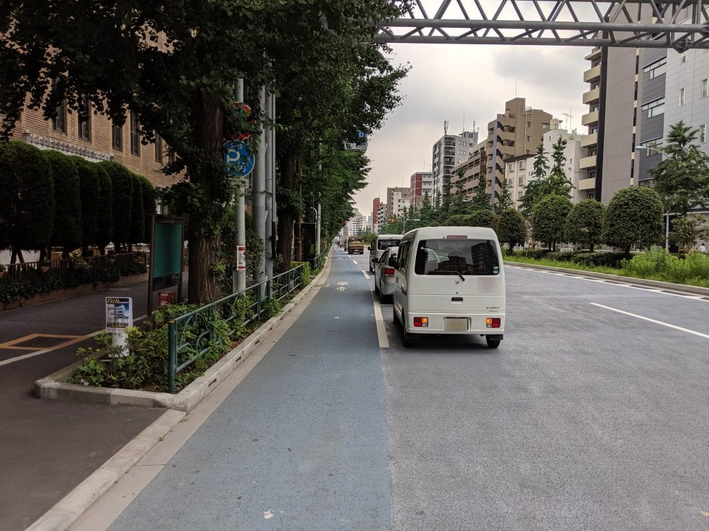 白山通り自転車レーン5