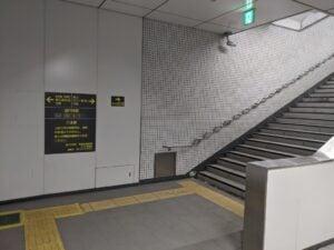 地下C3出口に直結です